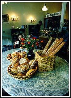 Image:  La Farine's family table